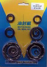 Engine Oil Seal Kit Yamaha YZ250 YZ 250 1983 to 1987 Mitaka 221