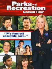 Parks and Recreation Season 4 (DVD, 2012, 4-Disc Set) New