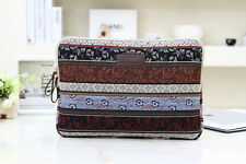 "Bohemian Design 15""15.4""15.6"" Laptop Sleeve Cover Bag Notebook Case For Dell HP"