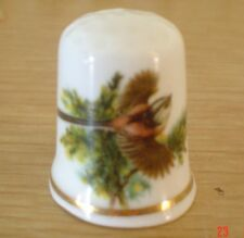 Lovely Long Tailed Tit China Thimble