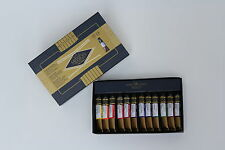 "MISSION GOLD, 12 WATERCOLOR SET, 7 ml size, ""Best WC"" + 2 EXTRAS, TOT: 14 TUBES"