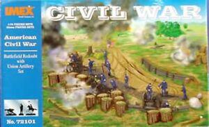 Battlefield Redoubt with Union Artillery Set, Civil War, New