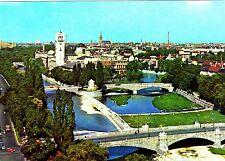 München , Isarpartie ,Ansichtskarte, gelaufen