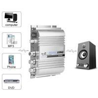 Mini Digital Audio Power Amplifier HiFi Stereo 2.1 Channel Heavy Bass Amp 12V