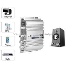 Mini Digital Audio Power Amplifier HiFi Stereo 2.1 Channel Super Bass Amp 12V