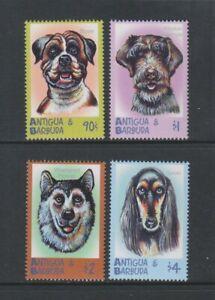 Antigua - 2000, Dogs set - MNH - SG 3030/1, 3044/5