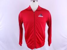 Adidas $50 Quatrro Soccer Training Men XL Extra Large Jacket Track Top Red White