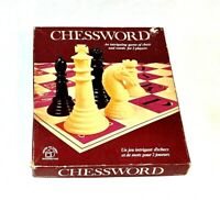 CHESSWORD BOARD GAME CHESS AND WORDS GAME WADDINGTONS 1972 COMPLETE
