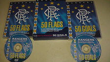 Rangers 50 Flags (DVD, 2004, 2-Disc Set) COMPLETE AND RARE
