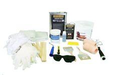 Fiberglass & Resin Repair Kit, 1 Quart & 2 yards Fiberglass, acetone & supplies