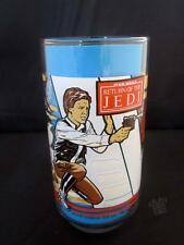 Original 1983 Burger King Vintage Star Wars Drinking Glass with Han Solo