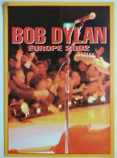 Bob Dylan Europe 2002 Tour Program 20 pag. a color