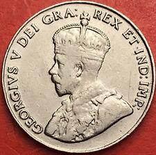 1925 Canada 5 Cents - VF - Lot#3302