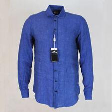 abf659e32abd6b Slim Collared Casual Shirts & Tops for Men ARMANI   eBay