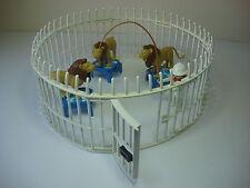 Domador Leones Playmobil 3517 Antiguo Jaula Circo Cuidador