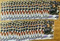 2018 TOPPS UPDATE RC US61 MIKE TAUCHMAN ROCKIES YANKEES 5 CARD LOT