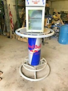 RED BULL COOLER and BAR TABLE