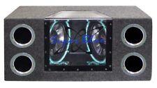 Pyramid Dual 10 in. 1000 Watt Bandpass Speaker System with Neon Accent Lighting
