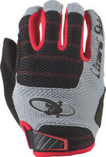 New Lizard Skins Monitor AM Gloves: Jet Black/Crimson 2XL