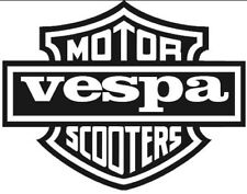 MOTOR VESPA SCOOTER  DECAL / STICKER,