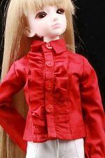 [wamami]80# Red Clothes/Shirt For 1/4 MSD DZ DOD BJD Dollfie