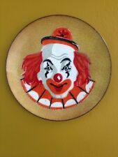 Painted Clown Plate