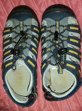Vguc Boy's Size 11 Blue, Yellow, & Grey Bass Brand Sandals