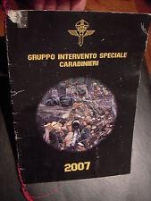 CALENDARIO G.I.S. GRUPPO INTERVENTO SPECIALE CARABINIERI  ANNO 2007