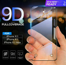 9D Curved Film Tempered Glass Screen Protector Cover for iPhone  XS MAX  6.5 inc