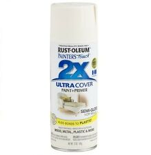 Rust-Oleum 249860 Painter's Touch 2x Spray Paint - Semi-Gloss Ivory Bisque