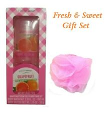 Bath and Body Fresh & Sweet 3 Piece Gift Set  ~Grapefruit~ Body Wash / Butter