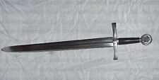 Medieval Masonic Knights Templar Crusader Mason's functional Sword with Scabbard