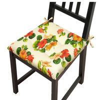 Cuscino coprisedia fiorito moderno imbottito cuscini seduta cucina casa morbido