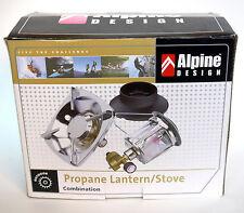 Alpine Design Propane Combination Lantern/Stove (Camping, Outdoor)