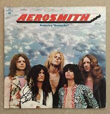 Steven Tyler Signed Aerosmith Record LP - First Album!