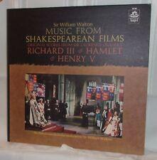 Sir William Walton MUSIC FROM SHAKESPEAREAN FILMS Richard III; Hamlet; Henry V