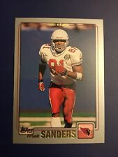 2001 Topps #208 FRANK SANDERS Arizona Cardinals WR Great Card !  LOOK !