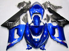 Blue Complete Injection Mold Fairing Set For Kawasaki Ninja ZX 6R 636 2005-2006