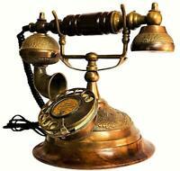 Vintage Landline Old Siemens Brothers & Co. 1885 London Corded Telephone TP 013