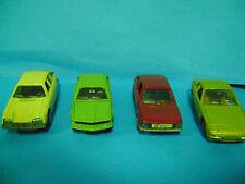 PORSCHE 924/BMW 320/CITROEN GS/ALFASUD polistil/mebetoys/Politoys etc