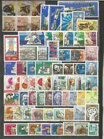 DDR 1975 gestempelt  kompletter Jahrgang  alle mit Poststempel    D