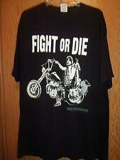 Triumph Chopper Fight or Die black 2XL t shirt Zombies