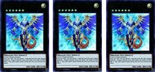 3 x Hieratic Dragon King of Atum  DUPO-EN092 Ultra Rare  YuGiOh Cards