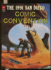 San Diego  Comic Convention 1991  Souvenir Book