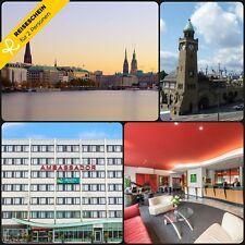 3 Tage 2P 3★S Hotel Hamburg City Nordsee Kurzurlaub Hotelgutschein Städtereisen