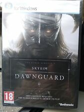 "The Elder Scrolls V Skyrim DAWNGUARD ""GAME AD-ON FOR ORIGINAL PC.NEW"