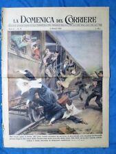 La Domenica del Corriere 8 maggio 1949 Pozzuoli - Mare del Nord - Shangai