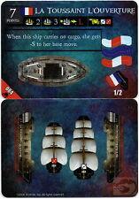 Wizkids Pirates Pocketmodel - La Toussaint L'ouverture (ship) DJC 084 C