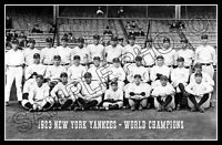 1923 Yankees Photo Poster 11X17 - Ruth Gehrig Dugan Pennock Buy Any 2 Get 1 FREE