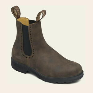 Blundstone 1351 Rustic Brown Womens Lightweight Comfortable Chelsea Boot Shoes